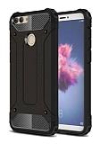 Tough Power Huawei P Smart Ultra Koruma Siyah Kılıf