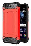 Tough Power Huawei P10 Ultra Koruma Kırmızı Kılıf