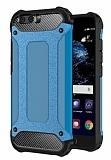 Tough Power Huawei P10 Ultra Koruma Mavi Kılıf