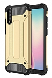 Dafoni Tough Power Huawei P20 Pro Ultra Koruma Gold Kılıf