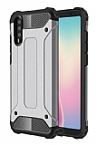 Tough Power Huawei P20 Pro Ultra Koruma Silver Kılıf