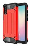 Tough Power Huawei P20 Pro Ultra Koruma Kırmızı Kılıf