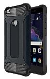 Tough Power Huawei P9 Lite 2017 Ultra Koruma Siyah Kılıf