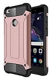 Dafoni Tough Power Huawei P9 Lite 2017 Ultra Koruma Rose Gold Kılıf