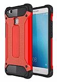 Tough Power Huawei P9 Lite Mini Ultra Koruma Kırmızı Kılıf