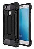 Tough Power Huawei P9 Lite Mini Ultra Koruma Siyah Kılıf