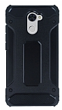 Dafoni Tough Power Huawei Y7 Prime Ultra Koruma Siyah Kılıf