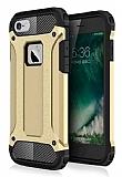 Dafoni Tough Power iPhone 6 / 6S Ultra Koruma Gold Kılıf