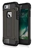 Dafoni Tough Power iPhone 6 / 6S Ultra Koruma Gun Black Kılıf