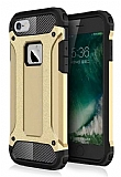 Dafoni Tough Power iPhone 6 Plus / 6S Plus Ultra Koruma Gold Kılıf