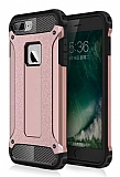 Dafoni Tough Power iPhone 7 Plus / 8 Plus Ultra Koruma Rose Gold Kılıf