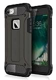 Dafoni Tough Power iPhone 7 Ultra Koruma Gun Black Kılıf