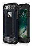Dafoni Tough Power iPhone 7 Ultra Koruma Siyah Kılıf
