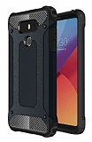 Dafoni Tough Power LG G6 Ultra Koruma Siyah Kılıf