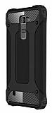 Dafoni Tough Power LG K10 Ultra Koruma Siyah Kılıf
