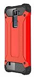 Dafoni Tough Power LG K8 Ultra Koruma Kırmızı Kılıf