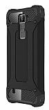 Dafoni Tough Power LG K8 Ultra Koruma Siyah Kılıf