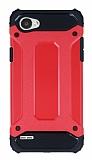Dafoni Tough Power LG Q6 Ultra Koruma Kırmızı Kılıf