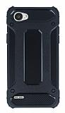 Dafoni Tough Power LG Q6 Ultra Koruma Siyah Kılıf