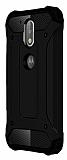 Tough Power Motorola Moto G4 Plus Ultra Koruma Siyah Kılıf