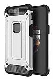 Dafoni Tough Power OnePlus 5 Ultra Koruma Silver Kılıf