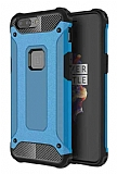 Dafoni Tough Power OnePlus 5 Ultra Koruma Mavi Kılıf