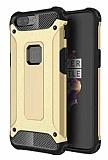 Dafoni Tough Power OnePlus 5 Ultra Koruma Gold Kılıf
