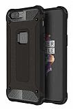 Dafoni Tough Power OnePlus 5 Ultra Koruma Siyah Kılıf