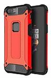Dafoni Tough Power OnePlus 5 Ultra Koruma Kırmızı Kılıf