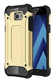 Dafoni Tough Power Samsung Galaxy A5 2017 Ultra Koruma Gold Kılıf
