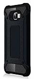 Dafoni Tough Power Samsung Galaxy C5 Pro Ultra Koruma Siyah Kılıf