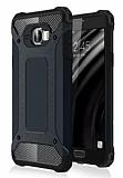Dafoni Tough Power Samsung Galaxy C7 Ultra Koruma Siyah Kılıf