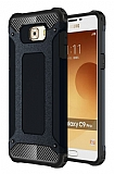 Tough Power Samsung Galaxy C9 Pro Ultra Koruma Siyah Kılıf