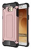 Tough Power Samsung Galaxy C9 Pro Ultra Koruma Rose Gold Kılıf