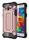 Dafoni Tough Power Samsung Galaxy Grand Prime / Prime Plus Ultra Koruma Rose Gold Kılıf