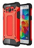 Dafoni Tough Power Samsung Galaxy Grand Prime / Prime Plus Ultra Koruma Kırmızı Kılıf