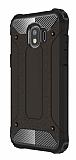 Dafoni Tough Power Samsung Galaxy J2 Pro 2018 Ultra Koruma Siyah Kılıf
