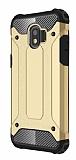 Dafoni Tough Power Samsung Galaxy J2 Pro 2018 Ultra Koruma Gold Kılıf