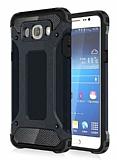 Dafoni Tough Power Samsung Galaxy J5 2016 Ultra Koruma Siyah Kılıf