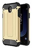 Dafoni Tough Power Samsung Galaxy J5 Pro 2017 Ultra Koruma Gold Kılıf