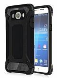 Dafoni Tough Power Samsung Galaxy J7 2016 Ultra Koruma Siyah Kılıf