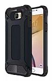 Dafoni Tough Power Samsung Galaxy J7 Prime Ultra Koruma Siyah Kılıf