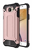 Dafoni Tough Power Samsung Galaxy J7 Prime Ultra Koruma Rose Gold Kılıf