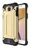 Tough Power Samsung Galaxy J7 Prime / J7 Prime 2 Ultra Koruma Gold Kılıf
