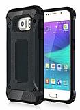 Dafoni Tough Power Samsung Galaxy Note 5 Ultra Koruma Siyah Kılıf