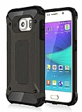 Dafoni Tough Power Samsung Galaxy Note 5 Ultra Koruma Gun Black Kılıf