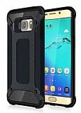 Tough Power Samsung Galaxy S7 Edge Ultra Koruma Gun Black Kılıf