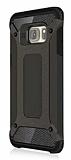 Dafoni Tough Power Samsung Galaxy S7 Ultra Koruma Gun Black Kılıf
