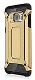 Dafoni Tough Power Samsung Galaxy S7 Ultra Koruma Gold Kılıf