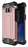 Dafoni Tough Power Samsung Galaxy S8 Plus Ultra Koruma Rose Gold Kılıf